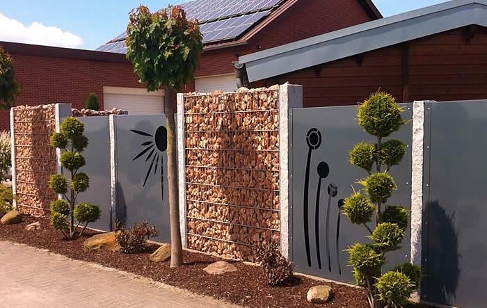 Alrabi metall design - Garten strukturieren ...